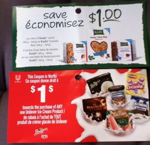 unilever Canadian Coupon