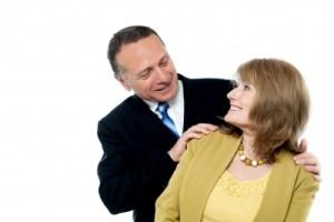 happy retirement couple