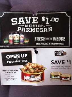 October coupons 2014