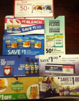 October COUPONS CANADA 2014
