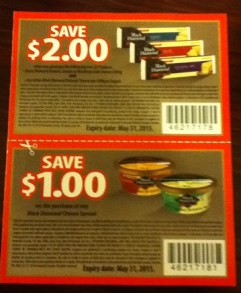 Black Diamond Cheese Coupons 2014 Canada