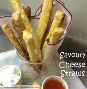 Savoury Cheese Straws