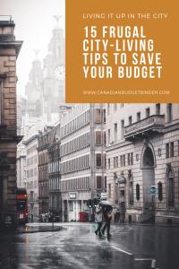 frugal city-living tips
