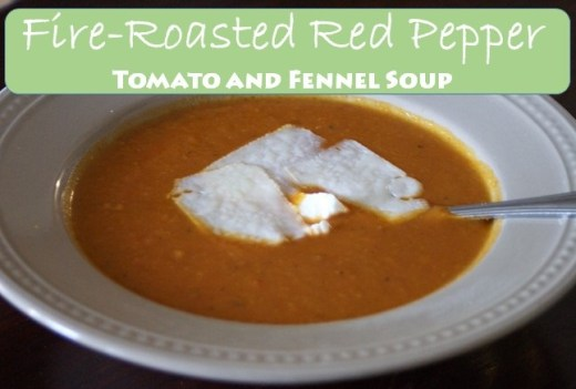 Fire Roasted Red Pepper Soup v2