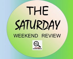The Saturday Weekend Review logo-wedding day