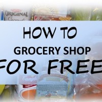 How to grocery shop for free
