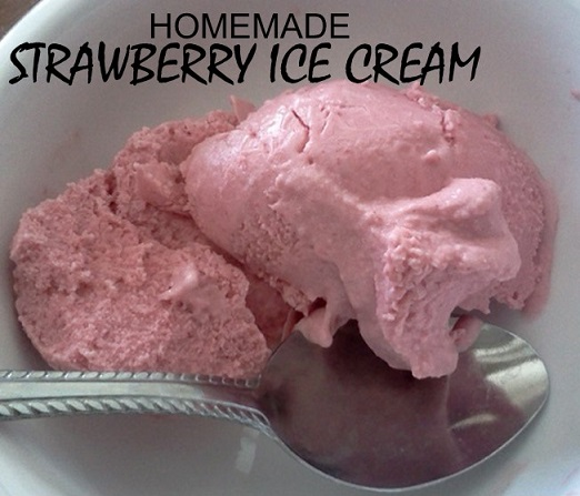 Easy strawberry ice cream no machine required canadian budget binder easy strawberry ice cream no machine required ccuart Gallery