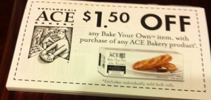 Ace bakery coupon Canada 2015(1)