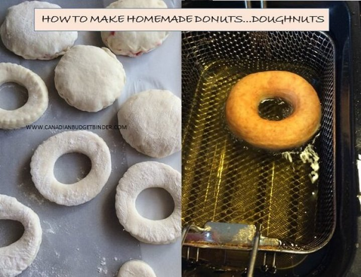 how to make homemade donuts
