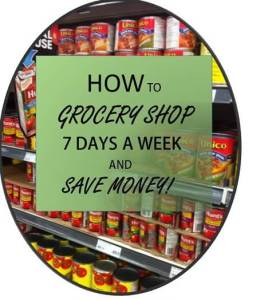 How to Grocery Shop 7 Days A Week and Save Money : The Grocery Game Challenge #1 May 4-10, 2015