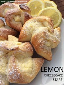 LEMON CHEESECAKE STARS