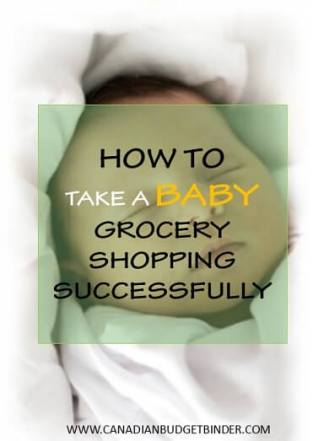 HOW TO TAKE A BABY GROCERY SHOPPING SUCCESSFULLY