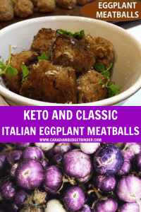 KETO AND CLASSIC ITALIAN EGGPLANT MEATBALLS-2