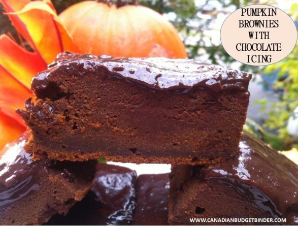 pumpkin brownies cover