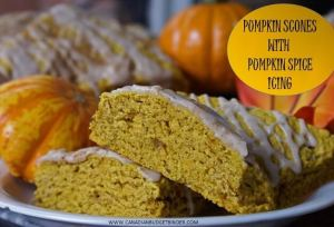 Amazing Pumpkin Scones With Pumpkin Spice Icing