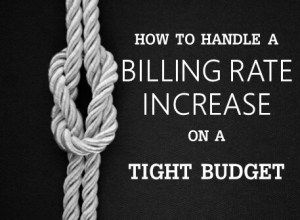How to handle a billing rate increase on a tight budget