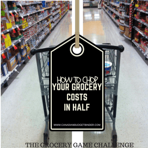 How To Chop Your Grocery Costs In Half : The Grocery Game Challenge 2016 #3 May 16-22