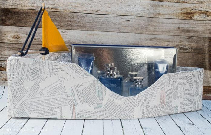 Fathers day gift boat