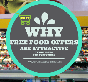 Why Free Food Offers Are Attractive Temptations For Shoppers : The Grocery Game Challenge  2016 #4 June 20-26