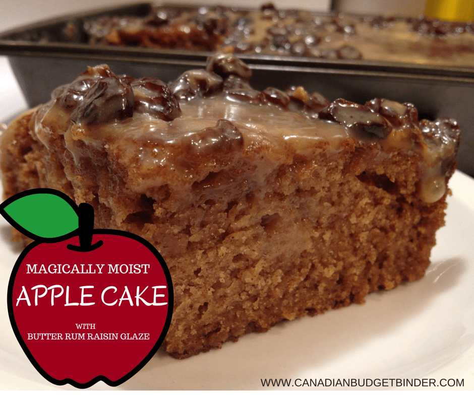 Apple And Raisin Cake Recipe