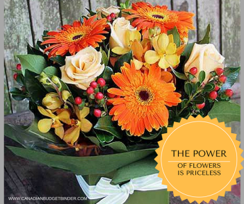 THE POWER OF FLOWERS IS PRICELESS 2