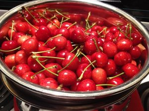 organic Ontario Cherries