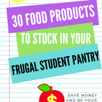 30 food products to stock in your frugal student pantry(1)