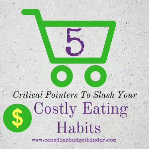 5 pointers to slash your costly eating habits cover