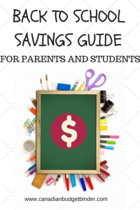 back to school savings guide for parents and students