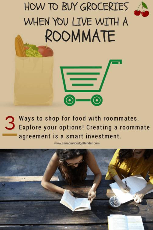 groceries roommate