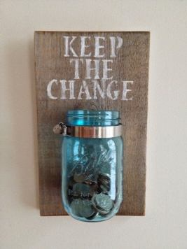 keep the change jar university and college students