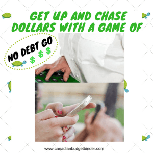Get Up And Chase Dollars With A Game Of No Debt Go : Our July 2016 Budget Report