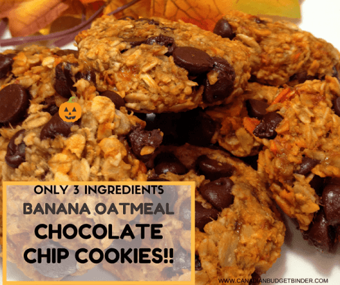 the-easiest-banana-oatmeal-chocolate-chip-cookies-ever-3-ingredients