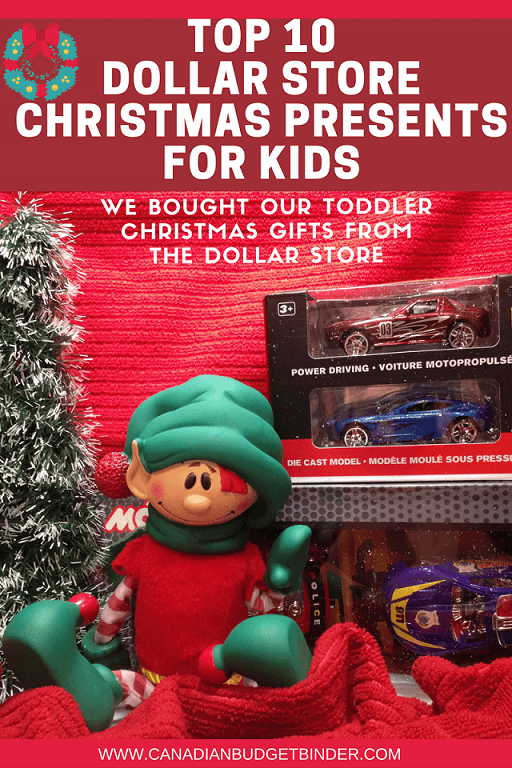 Top 10 Christmas Presents for Kids at the Dollar Store