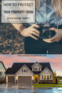 open house theft Canada