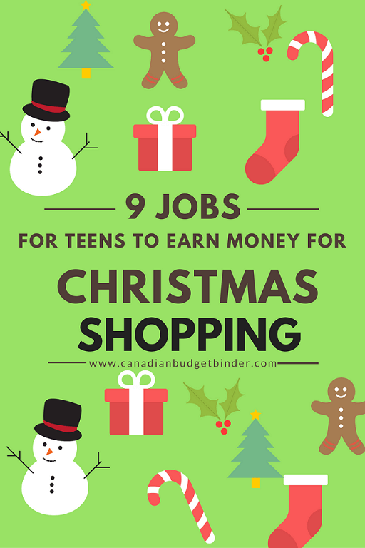 Christmas shopping for teen