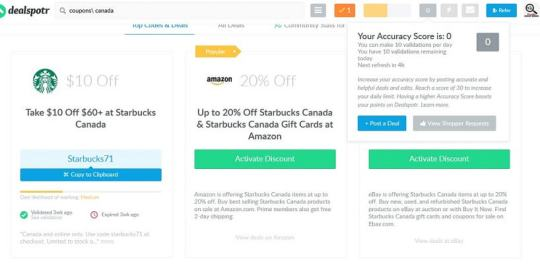Canadian Budget Binder Dealspotr 2 Starbucks code example