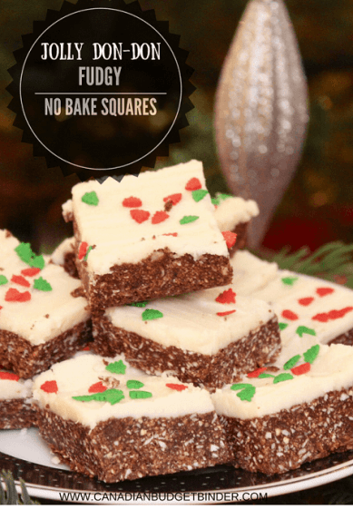 JOLLY DON DON FUDGY NO BAKE SQUARES PINTEREST