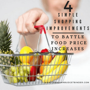 4 Simple Shopping Improvements To Battle Food Price Increases : The Grocery Game Challenge 2016 #1 Dec 5-11
