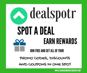 dealspotr Canada spot a deal earn rewards