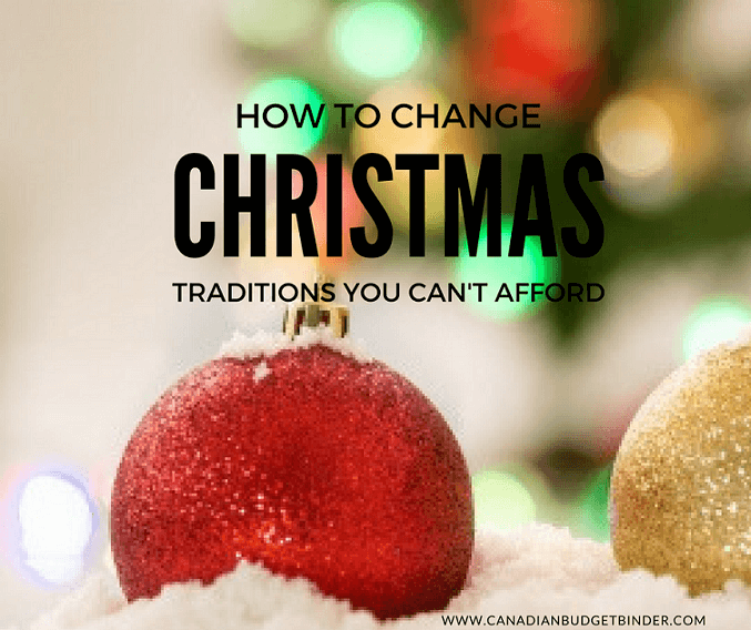 How To Change Christmas Traditions You Can't Afford : The Saturday Weekend Review #202