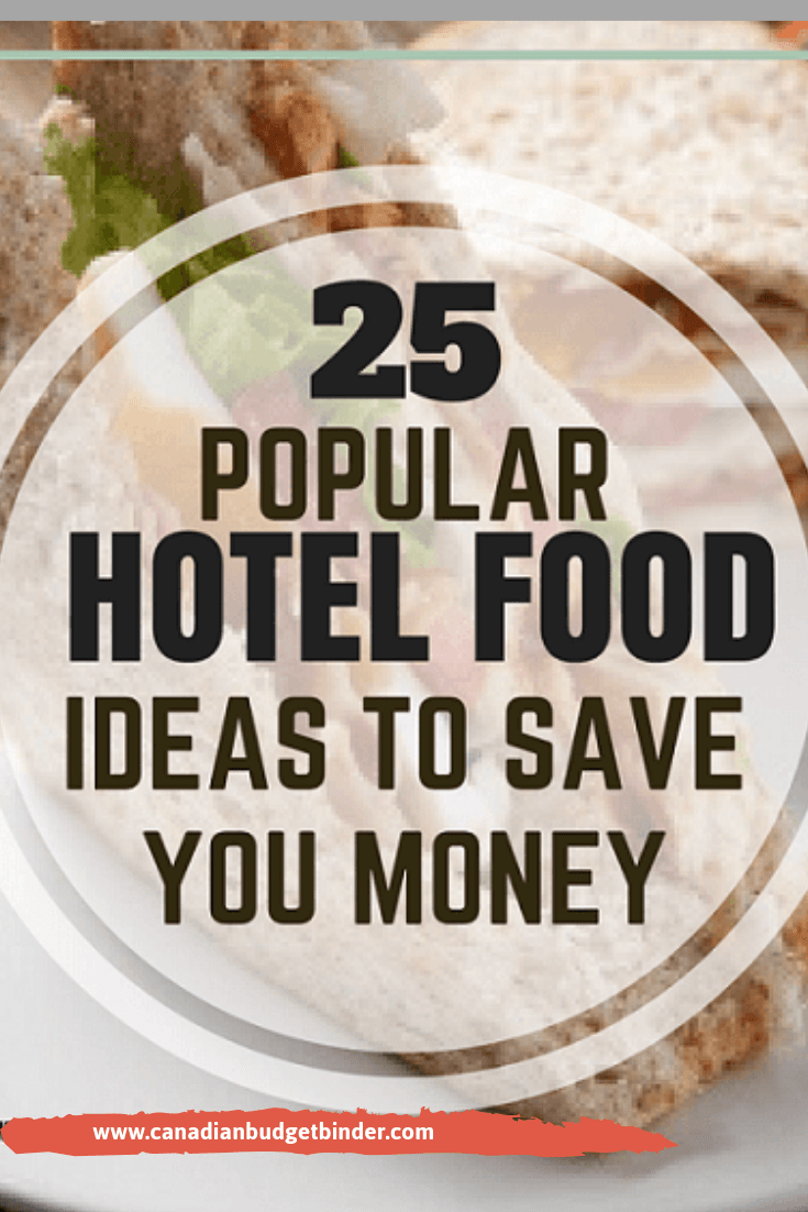 25 Popular Hotel Food Ideas To Save You Money : The Grocery Game Challenge #4 Jan 23-29