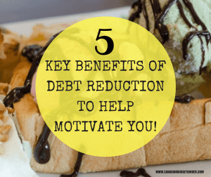 key benefits debt reduction