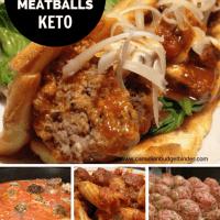 low carb meatballs keto friendly
