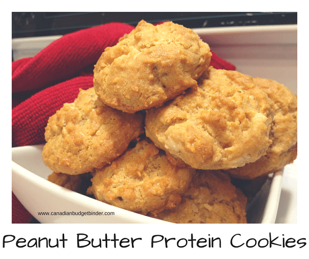 TIME IS ON YOUR SIDE WHEN BAKING THESE PEANUT BUTTER PROTEIN COOKIES ...