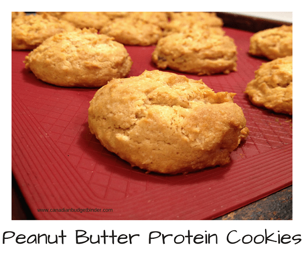 peanut butter protein cookies low carb