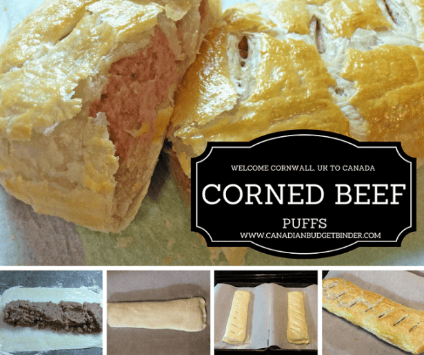CORNED BEEF PUFFS FB
