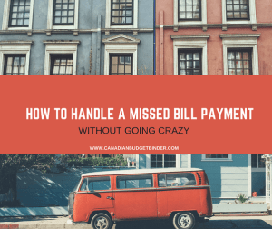 HOW TO HANDLE A MISSED BILL PAYMENT