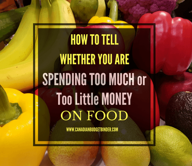 Are your grocery expenses too high or too low