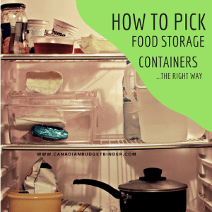 HOW TO PICK FOOD STORAGE CONTAINERS THE RIGHT WAY